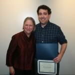 Prof. Cornelia Dayton and Kevin Finefrock