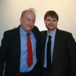 Prof. Joel Blatt and Zachary Stack