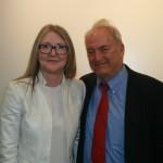 Prof. Joel Blatt and Katherine Hoskin