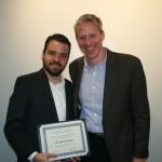 Prof. Mark Healey and Orlando Deavila