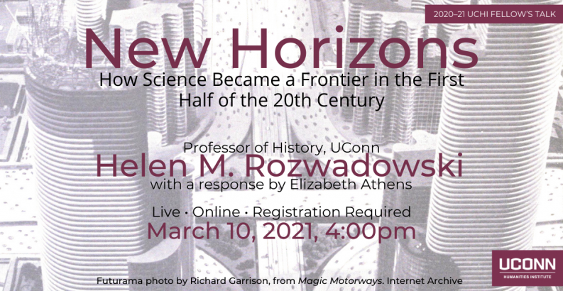 Helen Rozwadowski, Associate Professor, UCHI Talk