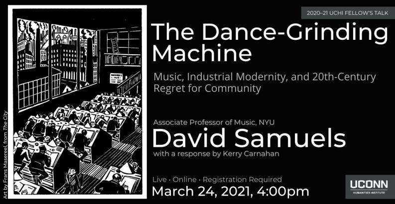 David Samuels, External Fellow, UCHI Talk