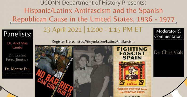Ariel Mae Lambe, UConn History Assistant Professor, Antifascism talk