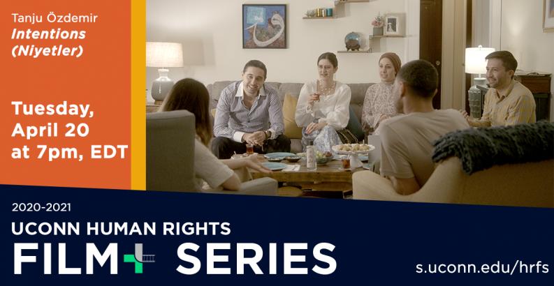 Tanju Ozdemir, Filmmaker, UConn Human Rights Film Series